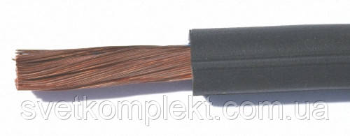 Кабель силовой гибкий КГ 1х10 резина КРОК, фото 2
