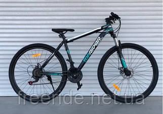 """Гірський велосипед Toprider """"611"""" 29 (19 рама) чорно-зелений"""