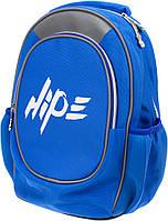 """Рюкзак """"Hipe Top Model"""" Хайп 2від.,2карм.,ортоп.,розмір S,38х28х20см,синій №973545"""