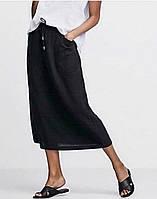 Летняя женская юбка из льна
