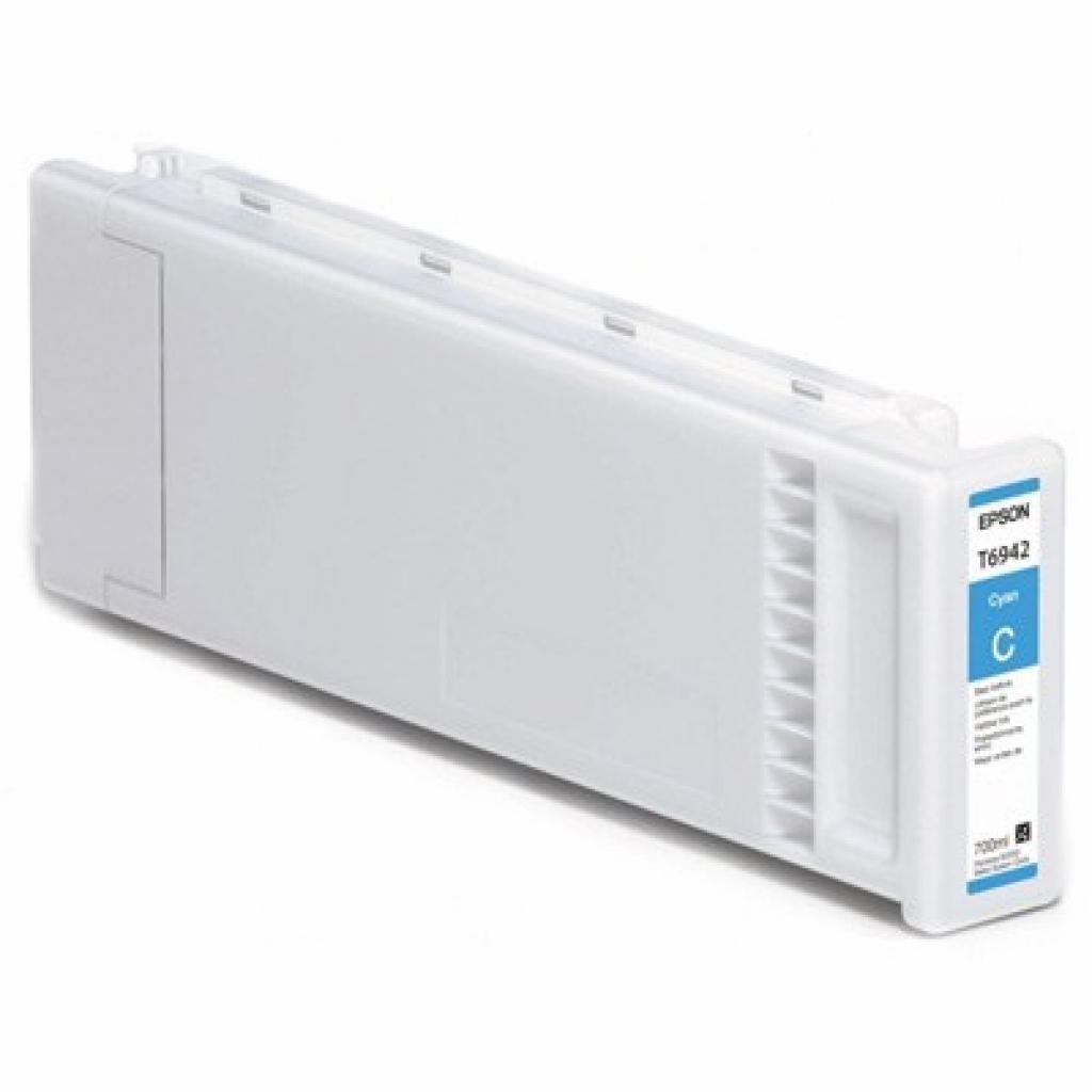 Картридж EPSON SC-T3000/5000/7000 Cyan 700мл (C13T694200)