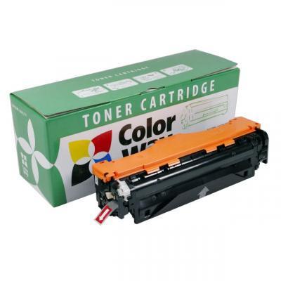 Картридж ColorWay для HP CLJ M351/M451 Cyan (CE411A) (CW-H411CM)