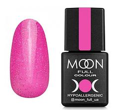 MOON FULL Opal color №506 бліда фуксія з різнобарвним шіммери, 8 мл.