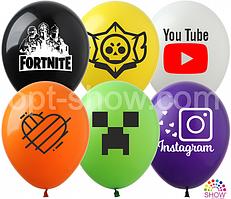 Воздушные шары Интернет TM Show (100 штук)