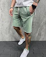 Стильні чоловічі шорти фісташка, 54-56