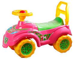 "Толокар (Беби машина ""Принцесса"") ТЕХНОК Pink/Yellow (9911)"
