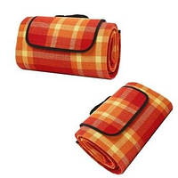 Водонепроницаемый переносной Коврик Подстилка для пикника кемпинга и пляжа 140*200 См (оранжевый)