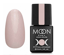 MOON FULL Opal color №504 ніжно-рожевий напівпрозорий з дрібним золотистим Шиммі, 8 мл.