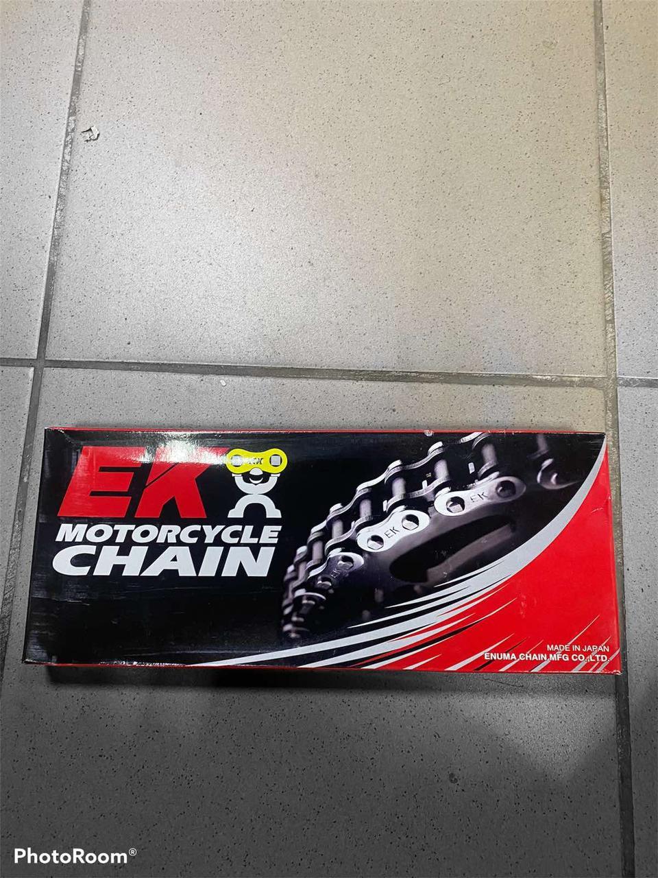 Фірмова японська приводний ланцюг для мопедів і невеликих мотоциклів фірми EK415SHDR140 Supersport