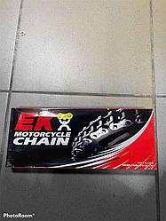 Фирменная японская приводная цепь для мопедов и небольших мотоциклов фирмы EK415SHDR140  Supersport
