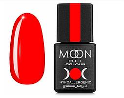 Гель-лак MOON FULL Neon №708  ярко-красный, 8 мл