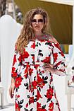 Красивое платье женское Турецкий софт Размер 50 52 54 56 58 60 В наличии 3 цвета, фото 6