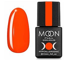 Гель-лак MOON FULL Neon №707  морковно-коралловый, 8 мл.