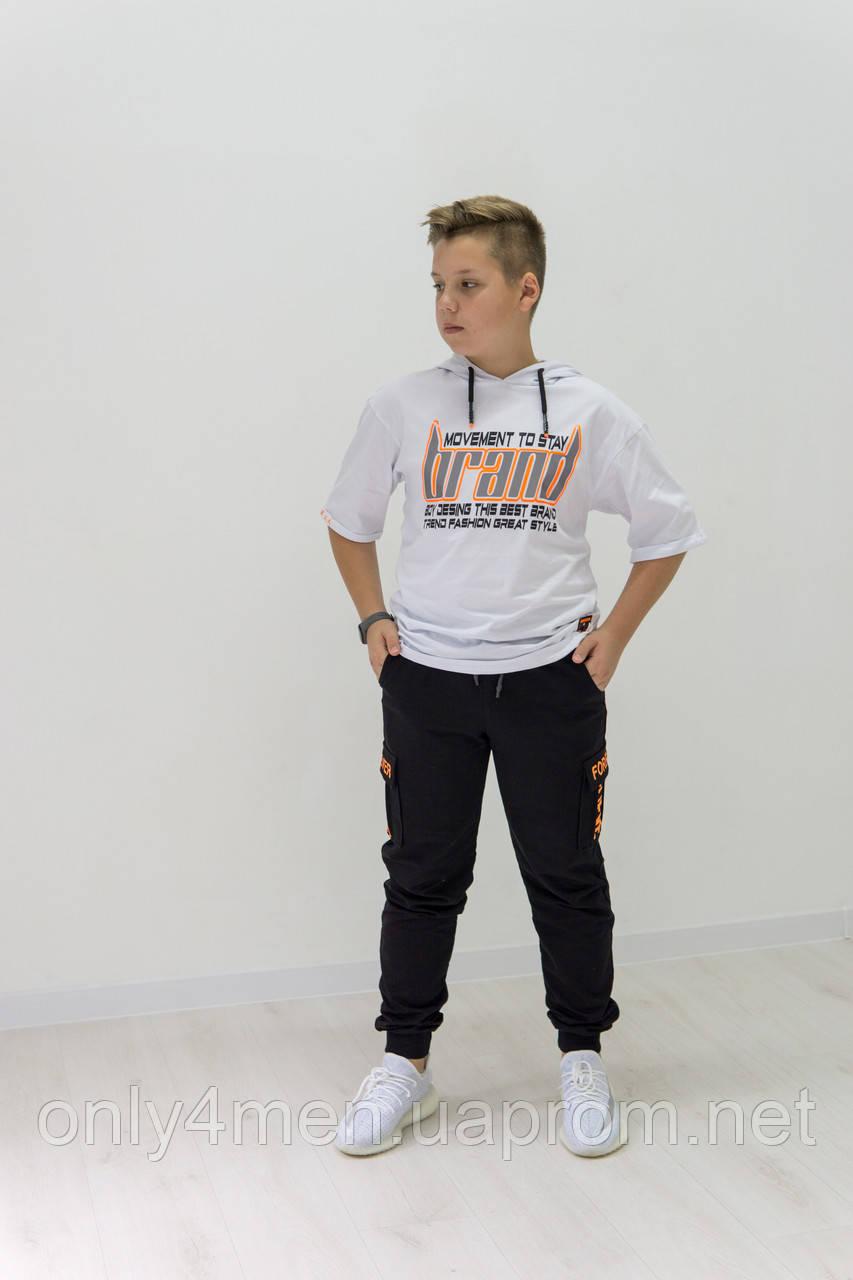 Яркие трендовые футболки для мальчиков 140-170см
