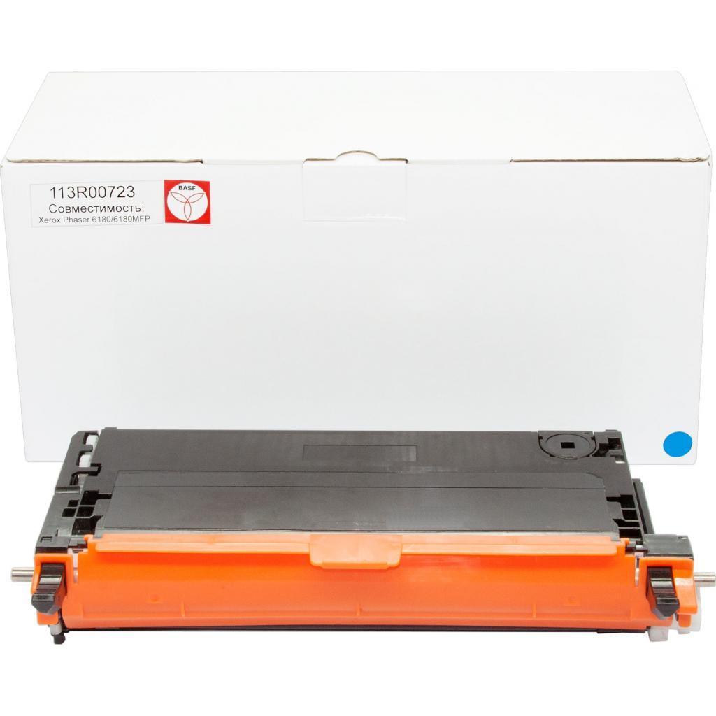 Тонер-картридж BASF Xerox Ph 6180 Cyan 113R00723 (KT-113R00723)