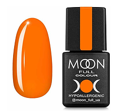 Гель-лак MOON FULL Neon №704 оранжевый 8 мл