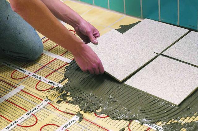 Монтаж установка теплої підлоги в Миколаєві та Миколаївській області