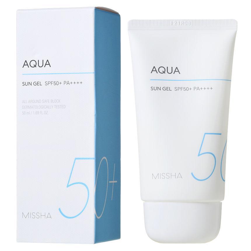 Зволожуючий сонцезахисний гель Missha All Around Safe Block Aqua Sun Gel SPF50 + / PA +++