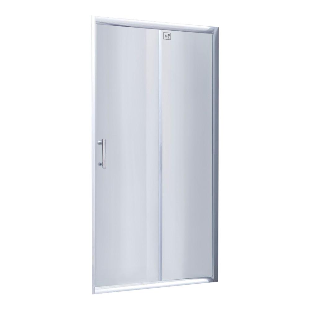 Душові двері в нішу Lidz Zycie SD100x185.CRM.TR, скло 5 мм