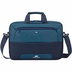 "Сумка для ноутбука RivaCase 15.6"" 7737 Big Steel blue/aquamarine (7737Steel blue/aquamarine)"