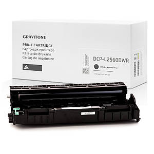Совместимый драм-картридж Brother DCP-L2560DWR (drum), модуль фотобарабан, 12.000 копий, аналог от Gravitone