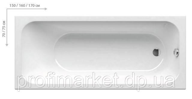 Ванна Ravak Chrome 150x70