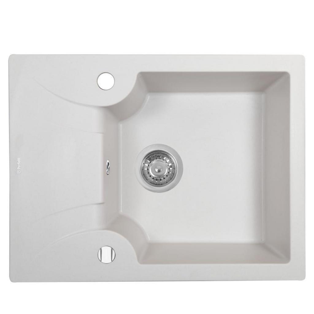Мийка кухонна PERFELLI FELICITA PGF 134-60 WHITE