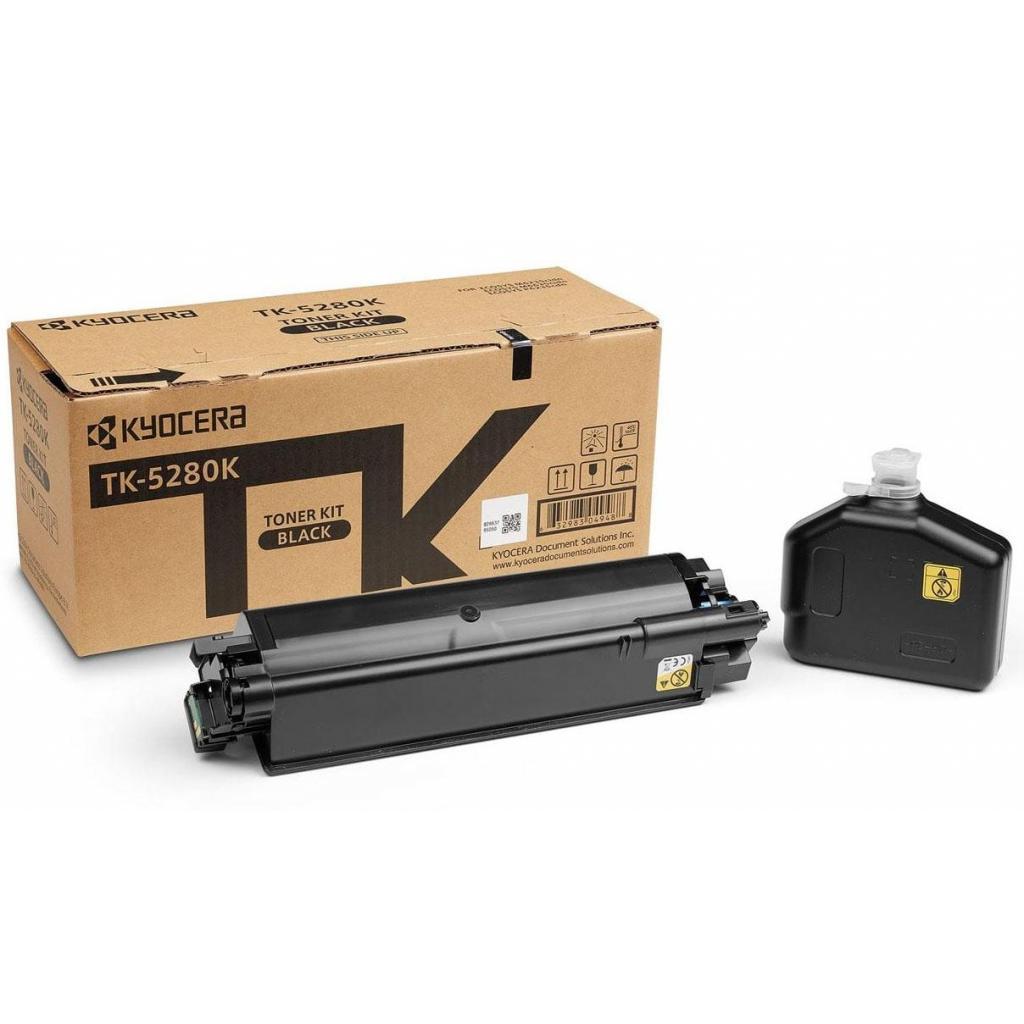 Тонер-картридж Kyocera TK-5280K Black (1T02TW0NL0)