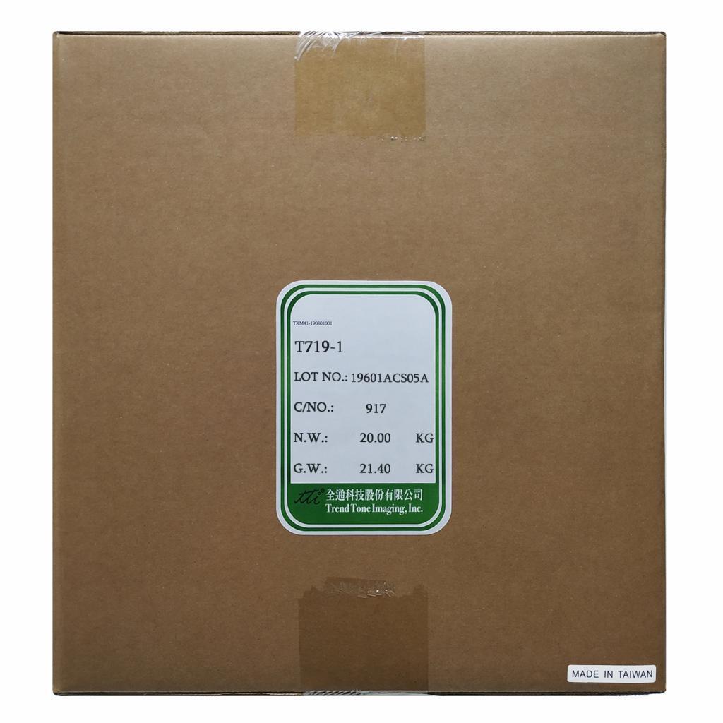 Тонер HP CLJ CP1215/CP1025 2x10кг CYAN TTI (T719-1)
