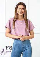 Воздушная блузка - футболка  032 В/03, фото 1