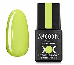 Гель-лак MOON FULL Neon №703  лимонный, 8 мл.