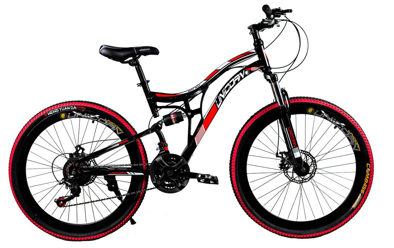 """Велосипед Unicorn - Best Way 26"""" Размер рамы 18 Черный"""