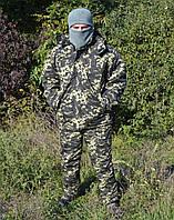 Костюм зимний куртка длинная + штаны Пиксель р.48-50 50