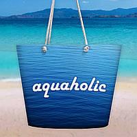 Пляжная сумка Malibu Aquaholic 50х36х15 см (MAL_20J048)
