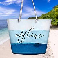 Пляжная сумка Malibu Offline 50х36х15 см (MAL_20J047)