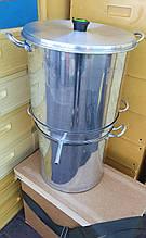 Воскотопка паровая с нержавеющим покрытием 20 литров