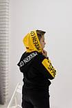 Худи,кофта, батник, свитшот  для мальчиков с двойным капюшоном 152-176см, фото 2