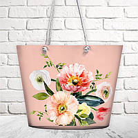 Пляжная сумка Malibu Цветочный букет 50х36х15 см (MAL_20J043)