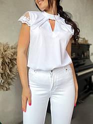 Жіноча нарядна блузка літня