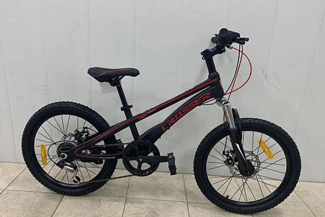 """Детский велосипед Crosser BMX 20""""  черный"""