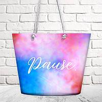 Пляжная сумка Malibu Pause 50х36х15 см (MAL_20J041)
