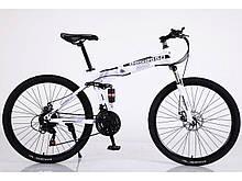 """Велосипед складной 26"""" BeGasso Soldier  рама 17"""" Белый, на рост 155-185 см"""