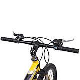 """Велосипед складной 26\"""" BeGasso Soldier рама 17\"""" желтый цвет на рост 155-185 см, фото 2"""