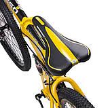 """Велосипед складной 26\"""" BeGasso Soldier рама 17\"""" желтый цвет на рост 155-185 см, фото 3"""