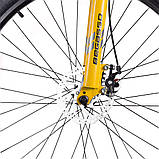 """Велосипед складной 26\"""" BeGasso Soldier рама 17\"""" желтый цвет на рост 155-185 см, фото 5"""