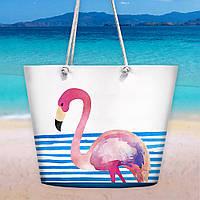 Пляжная сумка Malibu Фламинго 50х36х15 см (MAL_20J040)
