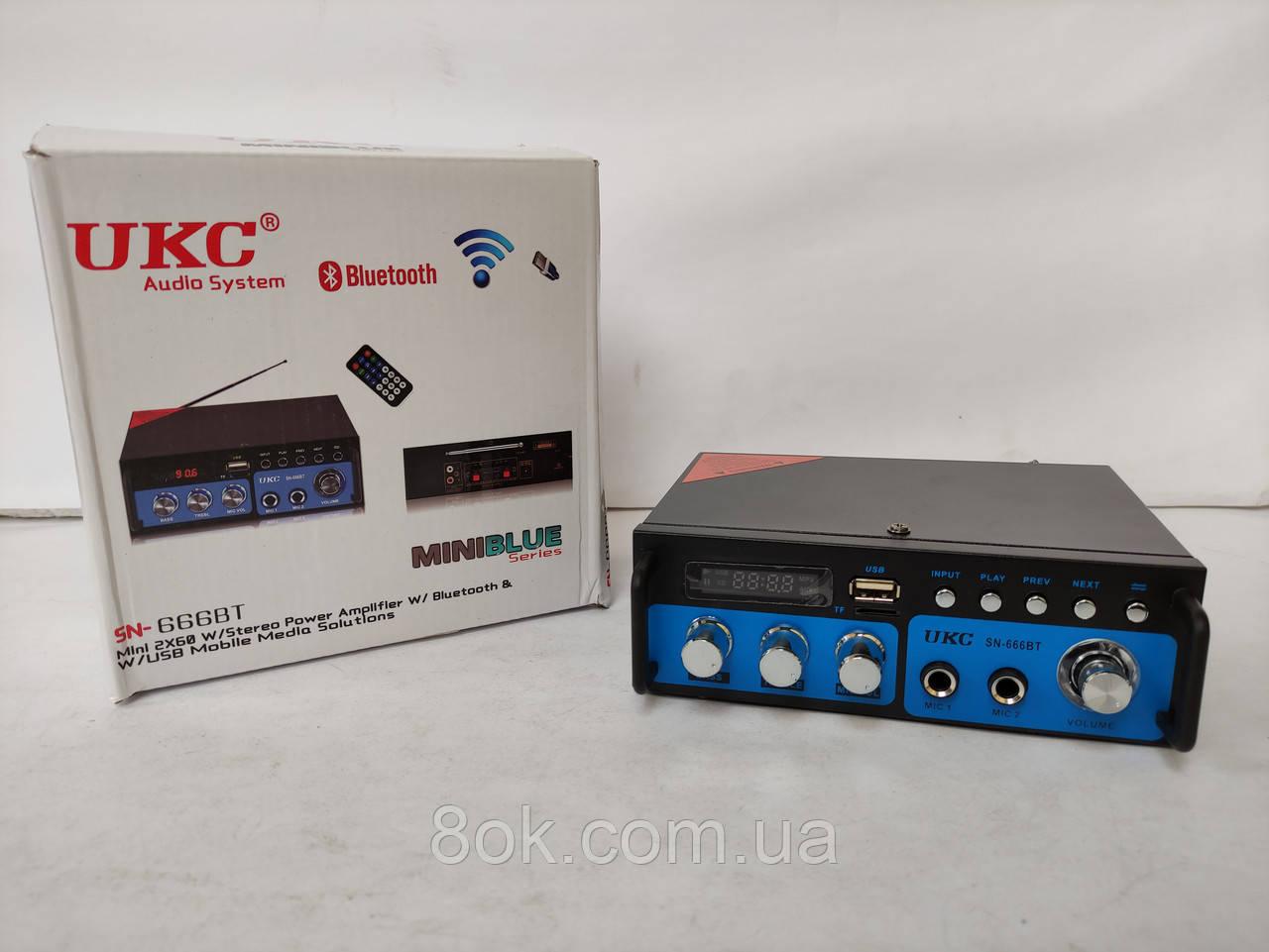 Підсилювач звуку UKC SN-666BT