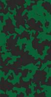 Бафф бандана-трансформер Зеленое и черное