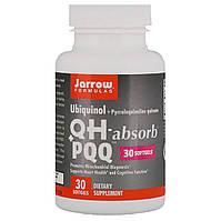 Убихинол и Пирролохинолинхинон, Jarrow Formulas, 30 Желатиновых Капсул