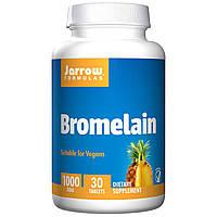 Бромелайн, Bromelain, Jarrow Formulas, 30 Таблеток